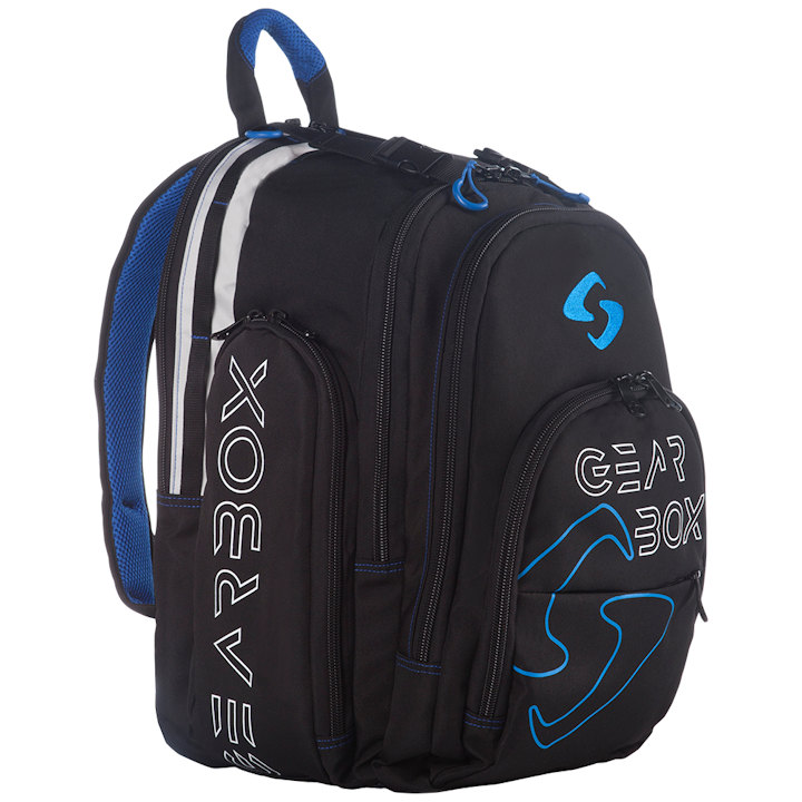 GearBox Black/Blue Backpack Bag