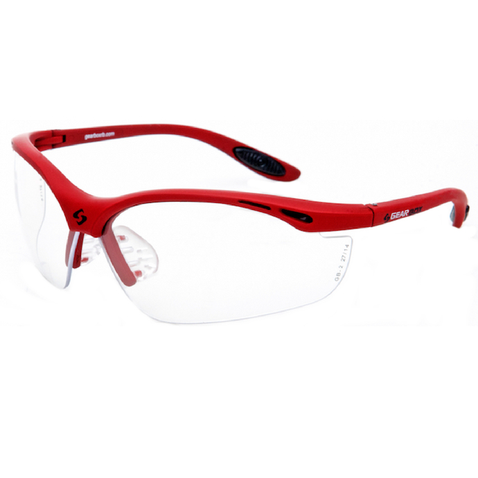 Gearbox Vision Eyewear (Red Frame)