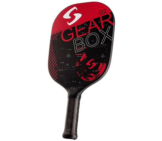 Gearbox G2 Red Pickleball Paddle Paddleballgalaxy