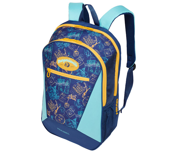 Head Margaritaville Pickleball Backpack Navy/Yellow (283868)