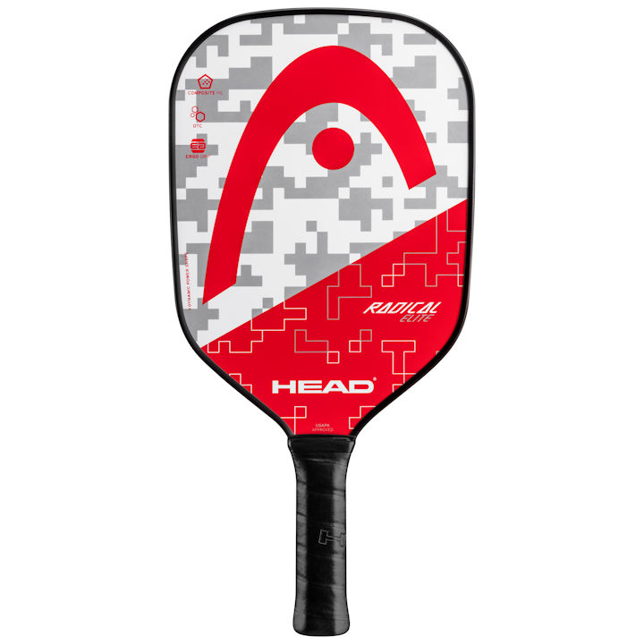Head Radical Elite (Gray/Red) Pickleball Paddle (226160)