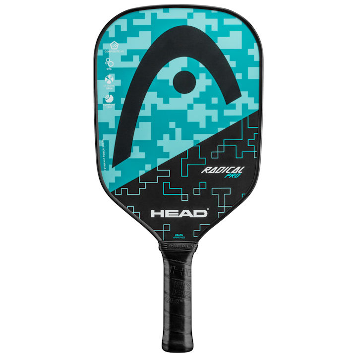 Head Radical Pro (Teal/Black) Pickleball Paddle (226150)