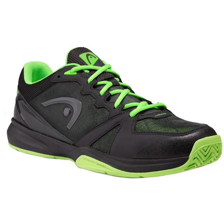 Head Revolt Indoor Low Raven/Neon Green Shoes (273709)