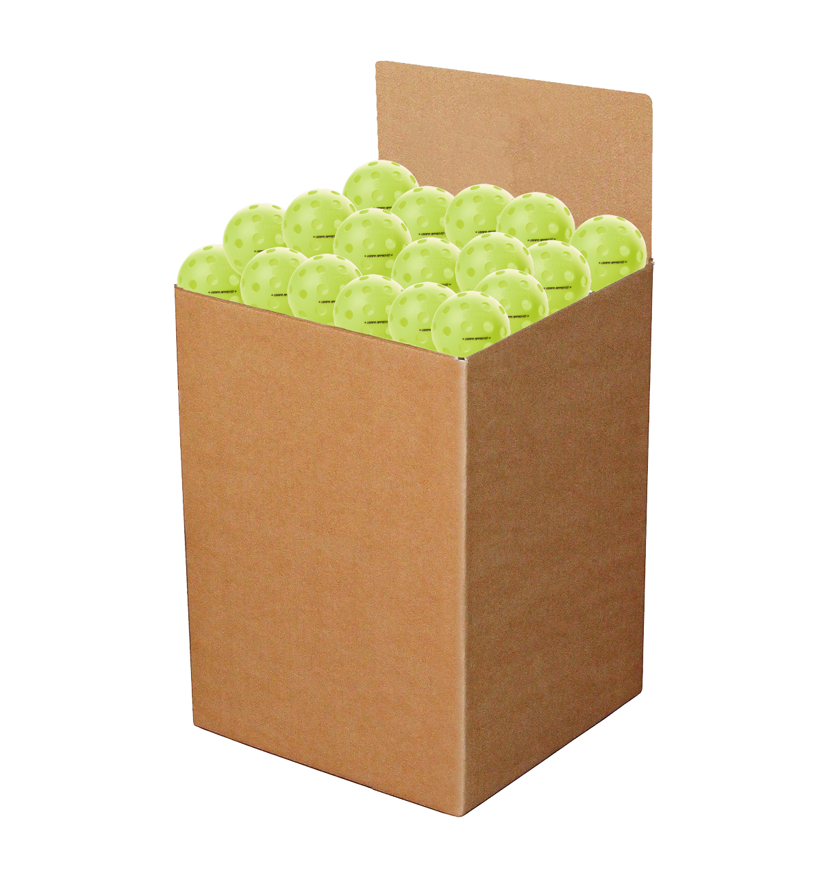 Onix Fuse G2 Outdoor Neon Green Pickleball Box of 100