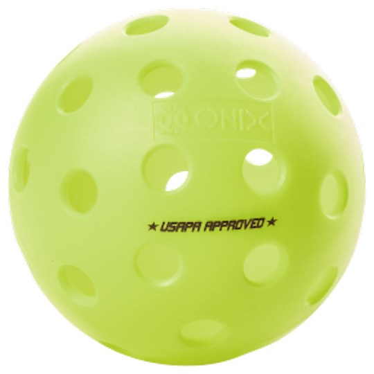 Onix Fuse G2 Outdoor Neon Green Pickleball