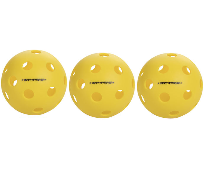 Onix Fuse Indoor Yellow Pickleball 3 Pack