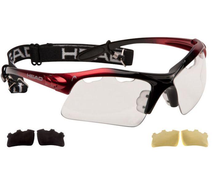 Head Raptor Pickleball Eyewear (Red/Black) (988000)
