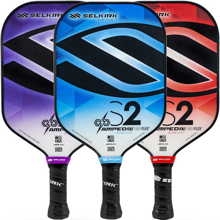 Selkirk AMPED S2 Midweight Pickleball Paddle