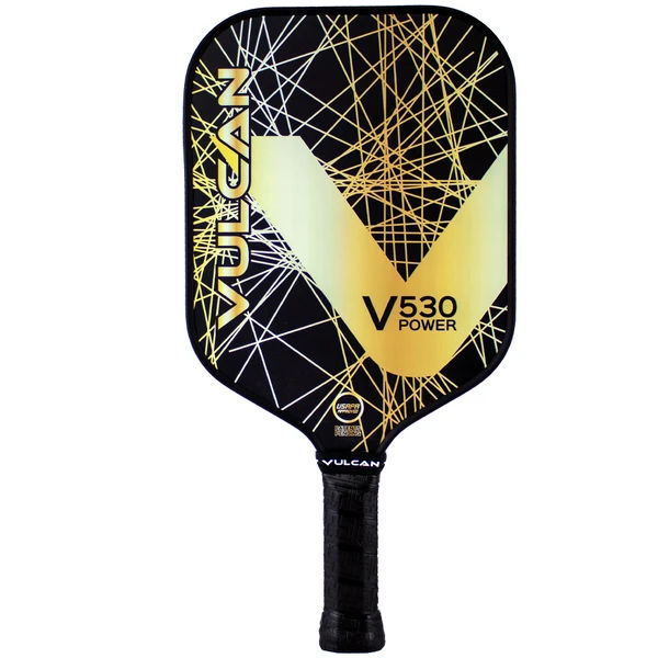 Vulcan V530 Power (Gold Lazer) Pickleball Paddle