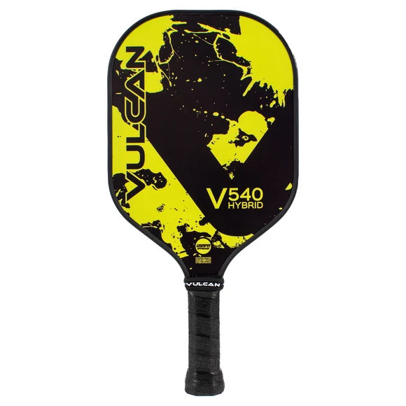 Vulcan V540 Hybrid (Yellow Splatter) Pickleball Paddle