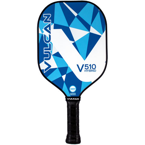 Vulcan V510 Hybrid (Blue Geo) Pickleball Paddle