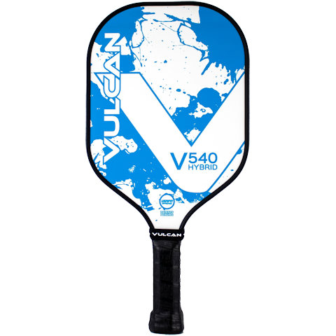 Vulcan V540 Hybrid (Blue Splatter) Pickleball Paddle