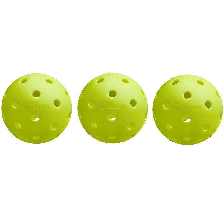 Wilson Tru 32 Pickleballs (3 Pack)