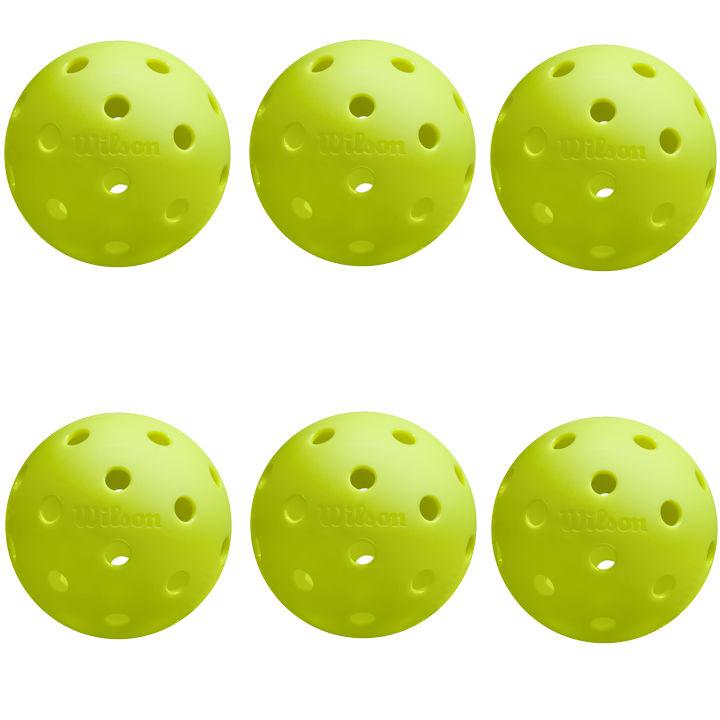 Wilson Tru 32 Pickleballs (6 Pack)