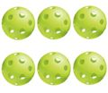Jugs Bulldog Lime Green Pickleball 6 Pack